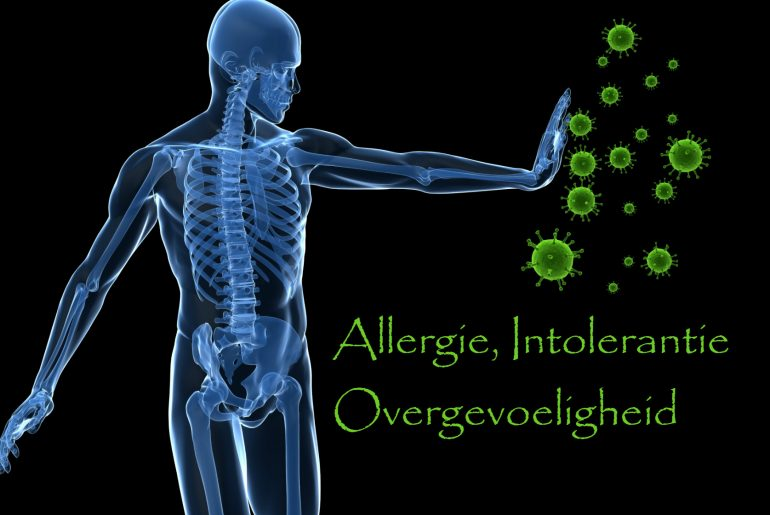 allergie, intolerantie, overgevoeligheid