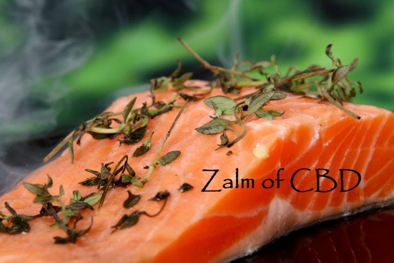 Omega 3 uit Zalm of THC uit wiet